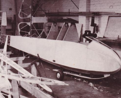 Grunau Baby II im Bau - 1936